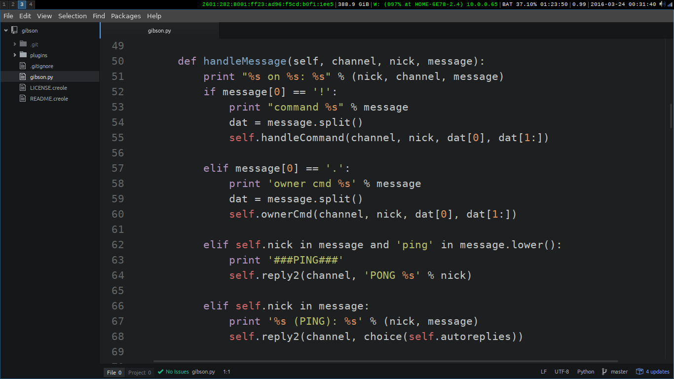 Lesson 06: Adding Parameters to Commands