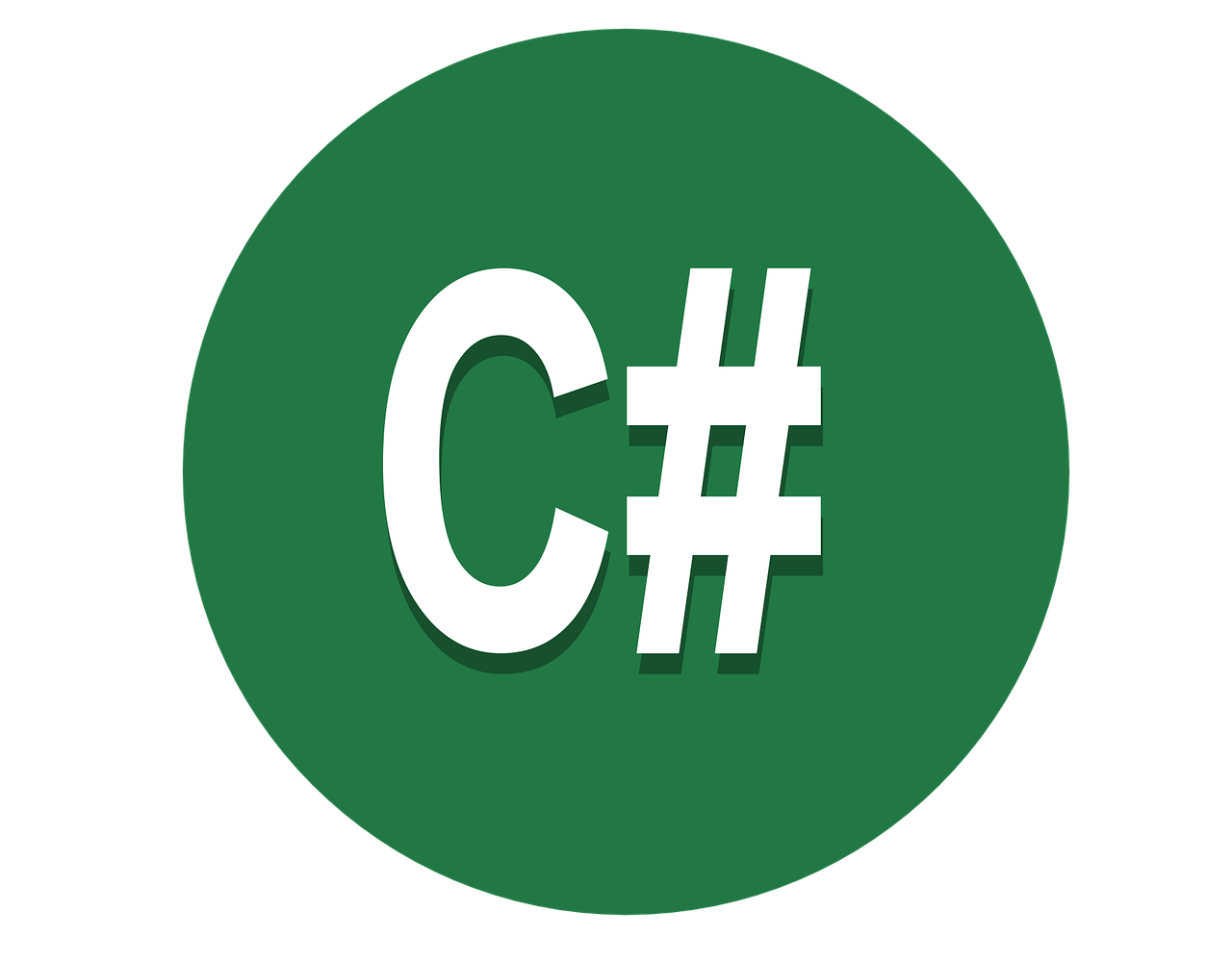 C sharp programming logo
